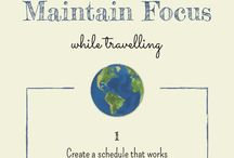 Mindfulness Infographics / Mindfulness infographics from Borrowed Roads