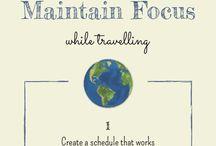 Mindfulness Infographics / Mindfulness infographics from Borrowed Roads