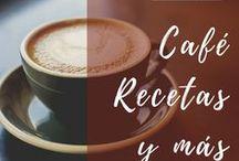 I ❤ Coffee / Curiosidades del café, recetas con café, maneras de hacer café, tipos de café. #cafe #coffee #caracolviajero #recetas