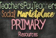 Primary TpT Resources