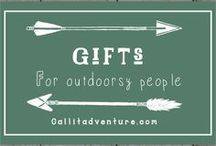 Gifts for outdoorsy people