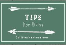 Tips for a hike