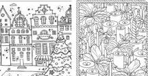 Colouring pages / Cool colouring pages for adults and kids