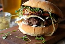 Bossing Burgers / Fantastic homemade burger recipes to try at home. Even better when the BBQ comes out.