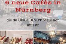 Cafés in Nürnberg / Hier findest du die schönsten Cafés von Nürnberg, Erlangen und ganz Franken. Du willst wissen wer den besten Kuchen backt, selbst gerösteten Kaffee oder gesunde Avocado-Brote anbietet. Dann schau vorbei!