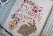 Easter and Spring xstitch