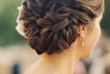 Wedding Day Hair<3 / by Mindy Golds