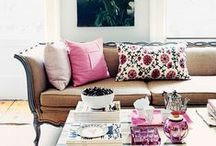 Inspirations for the Living Room / by Melissa Hudson