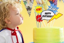 Kids' Parties: Superhero / by Angela Sgro