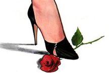 Rene Gruau / Fashion Illustrator, Born Renato Zavagli Ricciardelli in Rimini, Italy, on Feb. 4, 1909, http://www.renegruau.com/en/
