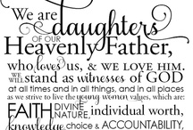 Young Women Stuff / Inspiration and ideas for teaching and leading 12-18 year old girls of the LDS faith.