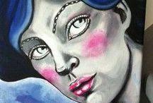Painting I Do / Vous trouverez ici mon actualités artistique dans le domaine de la peinture.