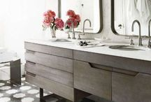 Interiors - Bathroom / Inspiration for a new master bath.