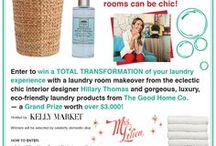 #LaundryByDesign / Line Dried #The Good Home Co. #Hillary Thomas #Mrs.Lilien / by Mindy Golds
