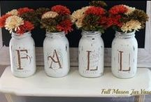 Pine Cones & Mason Jars, oh my! / Everything you could possibly do with pine cones and mason jars.  Or even pine cones AND mason jars.  The possibilities are endless. / by Jane Ellen