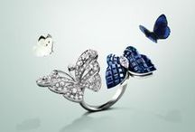 Butterflies / Van Cleef & Arpels celebrates Spring. With a flutter of butterflies, Van Cleef & Arpels ushers in the arrival of spring. Nature is a precious inspiration, instilling the Maison's creations with delicacy and poetry.