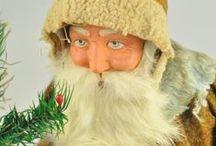 Antique German Santas / Examples of Santas from the past