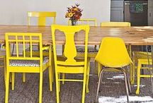 I ♥ colors: jaune écolier / In a bright yellow state of mind
