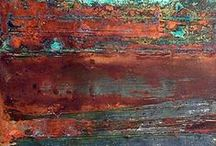 I ♥ colors: Orange Rouille / In an rust orange state of mind