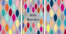 I ♥ wallpapers ! / A board where I share the free downloadable monthly themed wallpapers publish on Happy Coincidence's blog. Enjoy!
