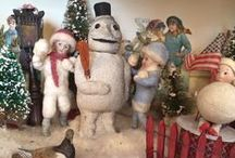 Snowmen and other snow themes