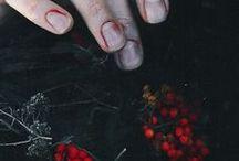 Rot wie Preiselbeeren_