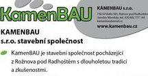 KAMENBAU s.r.o. - stavební společnost / KamenBAU je stavební společnost pocházející z Rožnova pod Radhoštěm s dlouholetou tradicí a zkušenostmi. Naše firma se zabývá prováděním staveb, zemními pracemi  a autodopravou. Disponujeme potřebnou mechanizací, zařízením, měřící technikou  a zkušenými zaměstnanci. www.kamenbau.cz