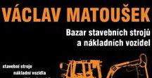 VÁCLAV MATOUŠEK - bazar stavebních strojů a nákladních vozidel