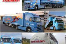 ZDEMAR Ústí nad Labem, s.r.o. / Poskytujeme dopravní služby v oblasti tuzemské a mezinárodní přepravy. Přepravujeme paletované, kusové, tekuté, sypké, nadměrné zboží, odpady a ADR materiály. Kamionovým dopravcům nabízíme pohonné hmoty, oleje, pneumatiky, využití servisu a pneuservisu. Zajišťujeme pronájem a prodej návěsů. Nákladní dopravu zajišťujeme vlastními dopravními prostředky nebo dopravními prostředky našich smluvních partnerů.  www.zdemar.cz
