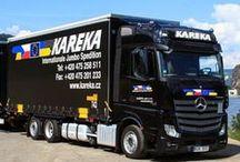 KAREKA, spol. s r.o. / Vznik naší společnosti jako Joint Venture sahá až do roku 1996, kdy jména dvou společností byly sloučeny do jednoho – tím vznikla KAREKA. Dnes jsme celoevropskou spediční společností. Za vysokou kvalitou našich služeb stojí především naši zaměstnanci. Ti tvoří jádro naší společnosti.  www.kareka.cz