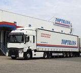 TOPTRANS EU, a.s. #ceskytrucker / TOPTRANS EU, a.s. patří v České republice a na Slovensku k nejvýznamnějším společnostem v oblasti poskytování expresní přepravy zásilek a logistických řešení. Přepravní a logistická řešení, která nabízíme našim klientům přizpůsobujeme jejich požadavkům a představují spolehlivé, nákladově efektivní a technologicky inovativní řešení. www.toptrans.cz