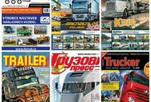 Magazines for trucks, trailers, tractors plant, construction machinery in the world #ceskytrucker