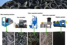 TIRE RECYCLING MACHINERY #ceskytrucker