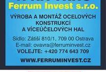 Ferrum Invest s.r.o. #OCELOVÉHALY #OCELOVÉKONSTRUKCE #MONTOVANÉHALY #CESKYTRUCKER #FERRUMINVEST / Ferrum invest s.r.o. je stabilní zavedená společnost, jejíž hlavní činností je výroba a montáž ocelových konstrukcí a víceúčelových hal. V tomto oboru nabízíme dle požadavků zákazníků komplexní služby a to od zpracování statiky a výrobní dokumentace, zajištění spodní stavby, výrobu a montáž ocelové konstrukce včetně opláštění a klempířských prvků. Každou stavbu optimalizujeme pro konkretní případ použití a dané požadavky, což zákazníkovi přináší nemalé úspory. #ceskytrucker #ferruminvest