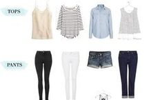 SPRING FASHION TRENDS / Wardrobe staples for spring