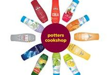 SodaStream Rainbow of Flavours / We love the new flavours from SodaStream, and we want you to love them too! That's why we always have a multibuy mix and match offer on at Potters Cookshop! Try a new flavour today!