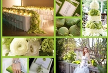 Green Theme / by Seattle Weddings
