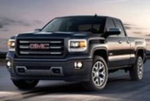 GMC Greatness / GMC vehicles - cars or trucks are a must for us.