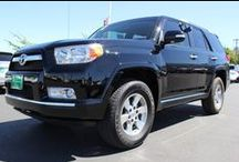 Looking for New Homes / A variety of pre-owned vehicles that are in need of a new forever home.