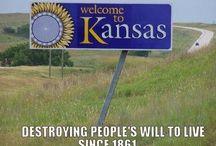 Anti-Kansas Memes / by Steve Garufi