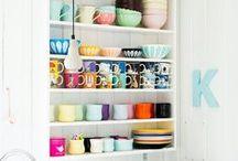 Kitchen - open shelves