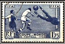 Football Philately by footysphere / The football stamps of the World / by Footysphere