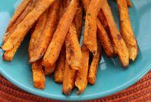 Sweet Potato Fries / by Steve Garufi