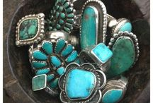 Turquoise Jewelry / by Steve Garufi