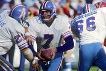 Houston Oilers / Another great NFL team with a fun name and artful uniforms. DISGRACEFUL that they moved to Tennessee!!! The Titans should be removed from the league out of respect. Anyone who was involved in the team's move on the 1990s should be ashamed of themselves.