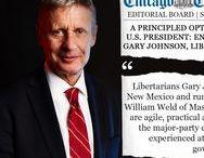 Gary Johnson For President / Johnson-Weld, the best presidential ticket in 2016.