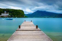 Savoie et Haute-Savoie / Annecy, Chamonix, le lac du Bourget, les Aravis.... Inspirations autour des deux Savoies.