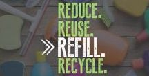 Reduce Reuse REFILL Recycle