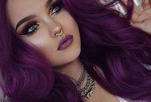 [OC] Scarlett McCoy / Rock chic/purple aesthetic