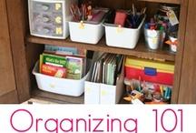 Get Organized / by Karen Hartoin